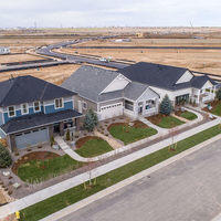Model Home Aerial View